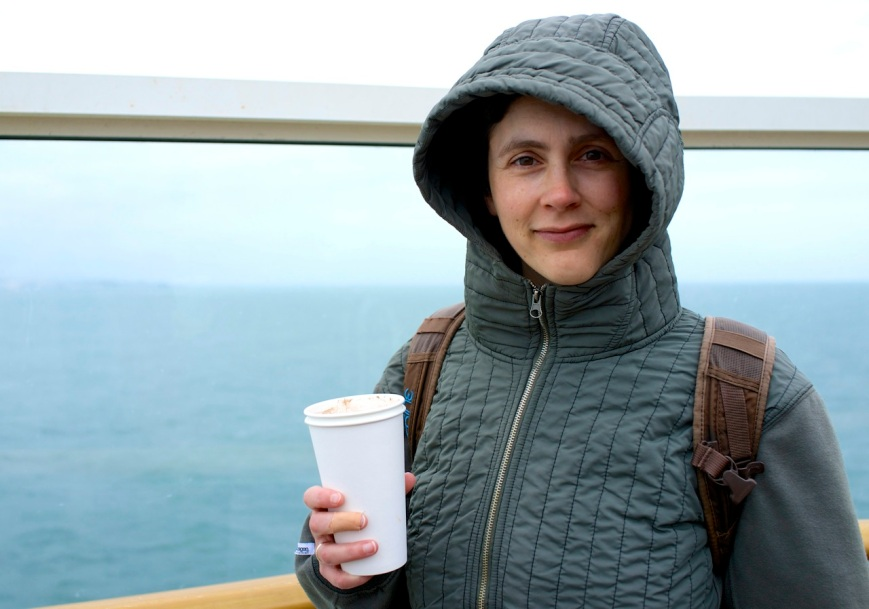 Leaving Dover with a cup of jo
